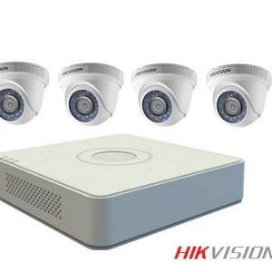 Trọn gói 4: Bộ 4 Camera + Ổ cứng + Đầu ghi 4 kênh