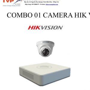 COMBO 01 CAMERA HIK VISION 1MP TỰ LẮP ĐẶT